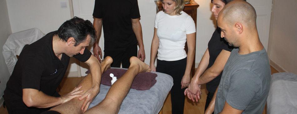formation professionnelle de massage