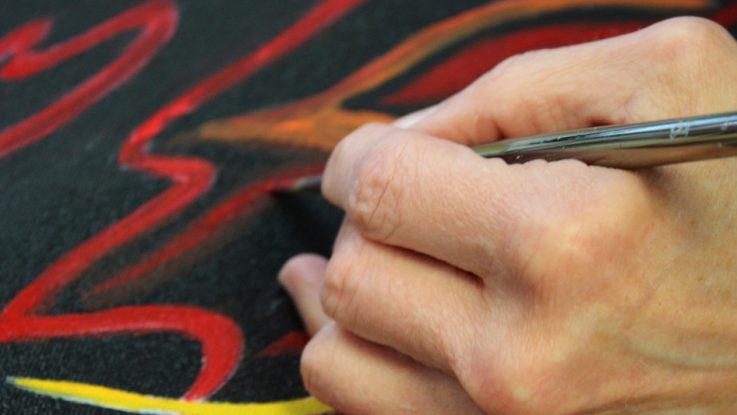 peinture en art thérapie