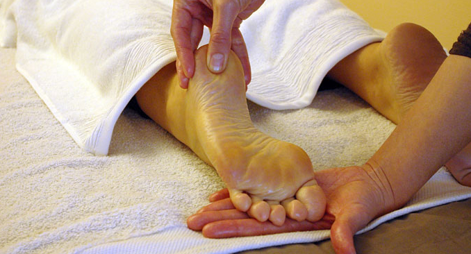 massage pied