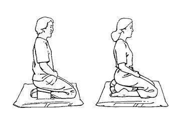 positions à genoux