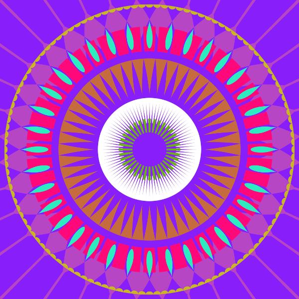 mandala cercle